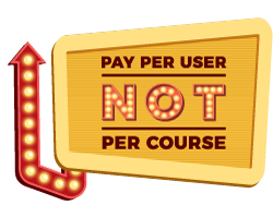 Licences - Pay per user not per course