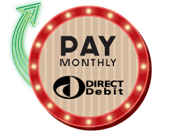 Pay Monthly by Direct Debit
